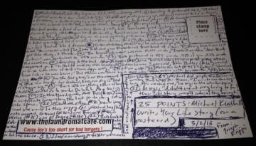 MK Postcard Giant